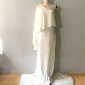 NWT - White Long Dress Gown